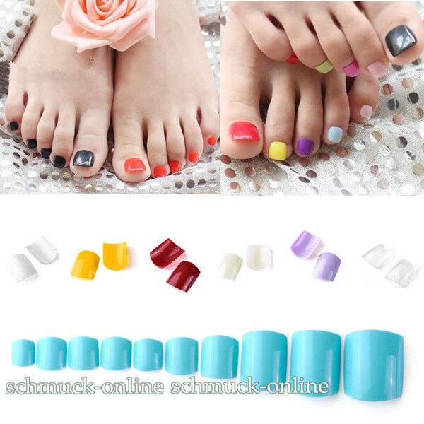 500x tips fu n gel kunstn gel zehenn gel sets french toe nails 7 farbe zu w hlen ebay. Black Bedroom Furniture Sets. Home Design Ideas
