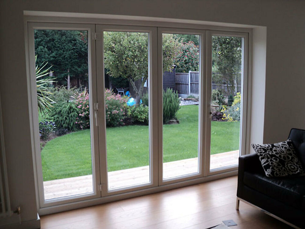 upvc bifold doors white light oak rosewood mahogany
