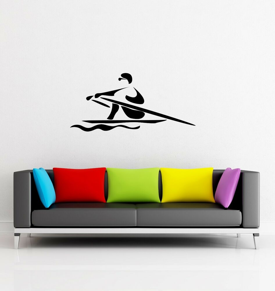 Wall Stickers Vinyl Decal Sport Rowing Boating Z1244 Ebay