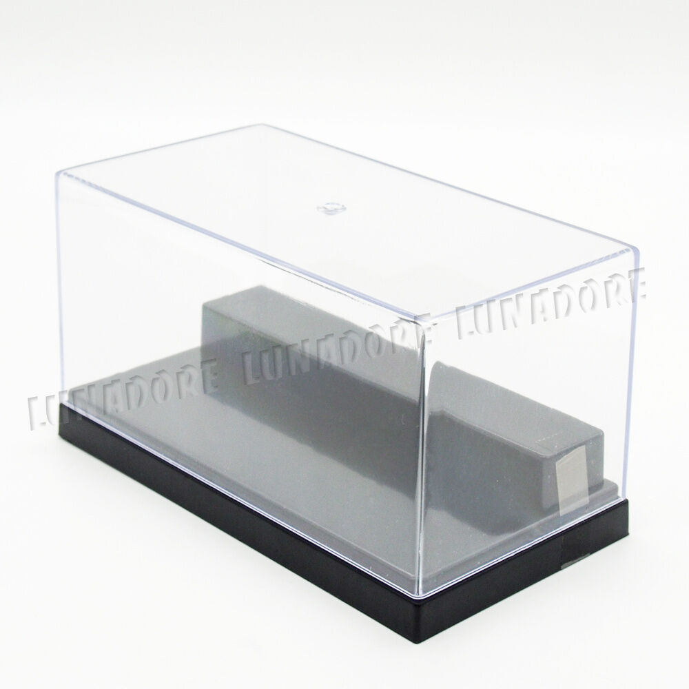 uv acrylic plastic display box case dustproof protection 2 stpes 5 9 l small ebay. Black Bedroom Furniture Sets. Home Design Ideas