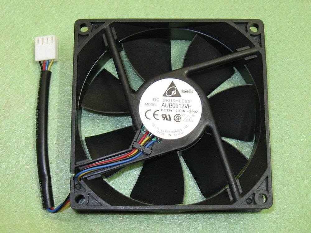 Delta Aub0912vh 92mm X 92mm X 25mm Cooler Cooling Fan For