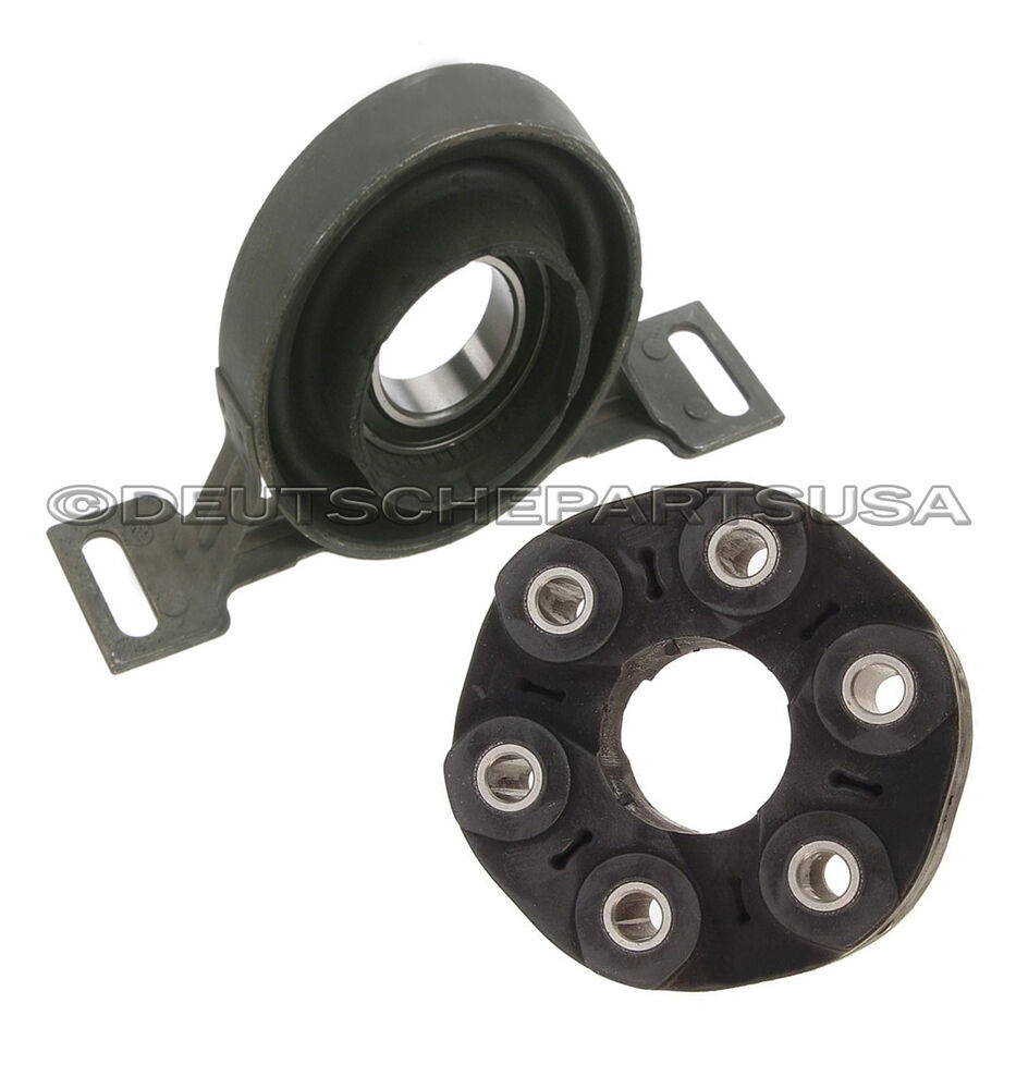 how to replace a drive shaft center support bearing