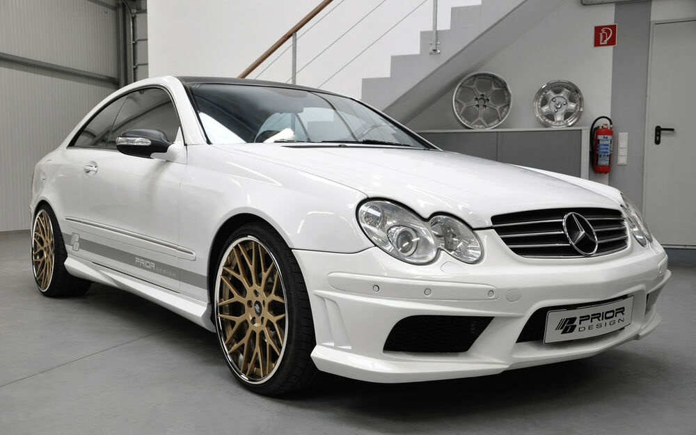 mercedes clk w209 full body kit clk55 clk500 clk350 amg ebay. Black Bedroom Furniture Sets. Home Design Ideas