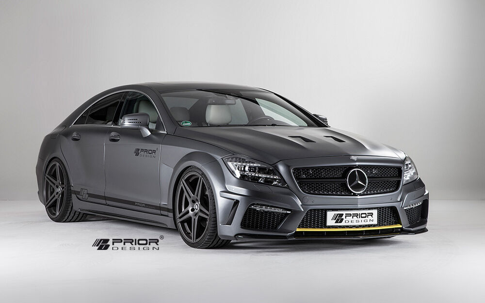Mercedes cls w218 vented hood vent inserts black series for Mercedes benz cls series