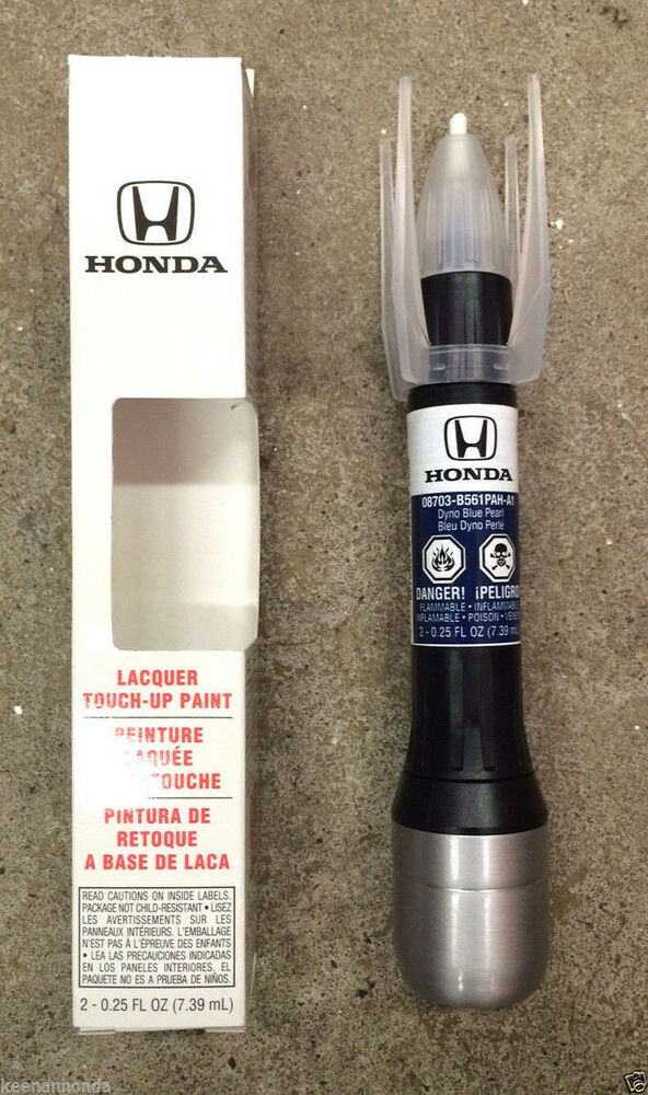genuine oem honda touch up paint pen b 561p dyno blue pearl ebay. Black Bedroom Furniture Sets. Home Design Ideas