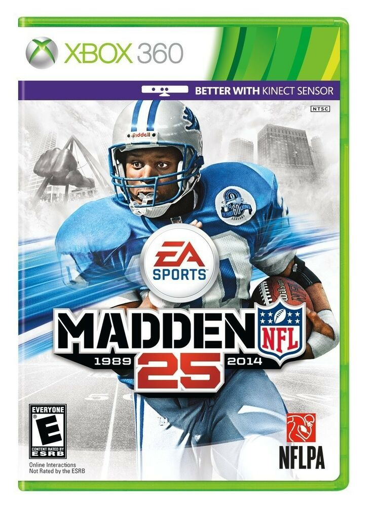 Newest Madden Game For Xbox : New madden nfl microsoft xbox  ntsc