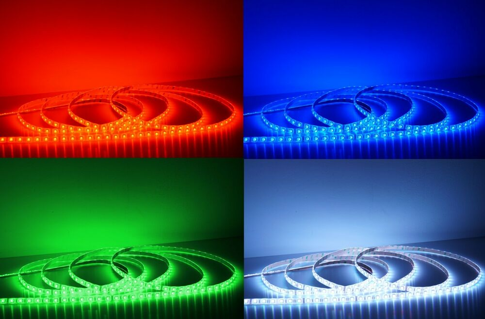 ultra hell 5m bis 20m led strip rgb band leiste 24v 18 20 lumen led ebay. Black Bedroom Furniture Sets. Home Design Ideas