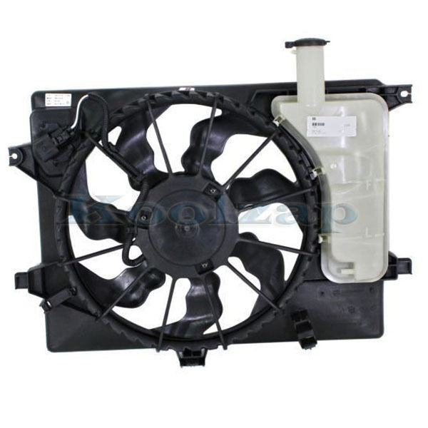 11 12 Elantra Sedan Radiator Ac Condenser Cooling Fan