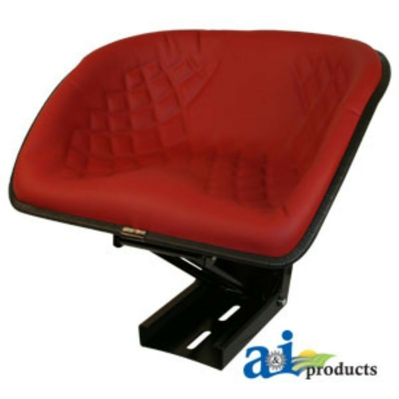 Universal Farm Tractor Seats : Universal tractor bucket seat red bs rd ebay