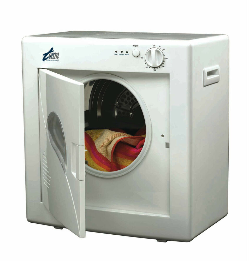 compact tumble dryer for small loads great for apartments no