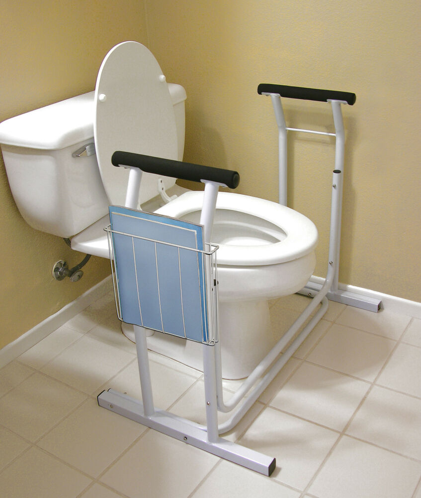 Deluxe Toilet Safety Rack Support Frame Support Assist