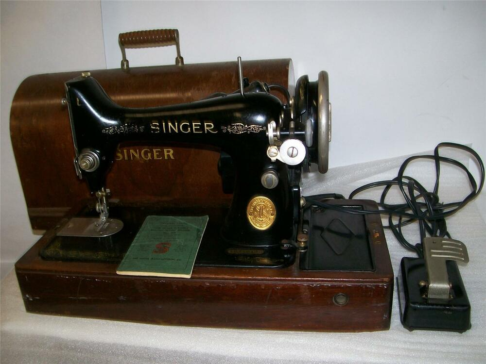 value of a singer sewing machine by serial number