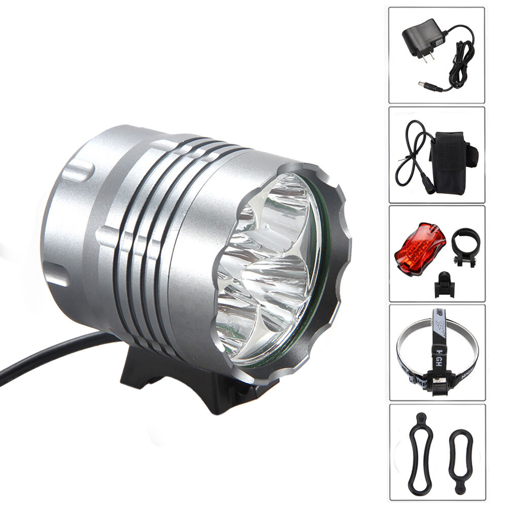 5x CREE XM-L U2 LED 8000Lm Front Bicycle Light bike Lamp ...