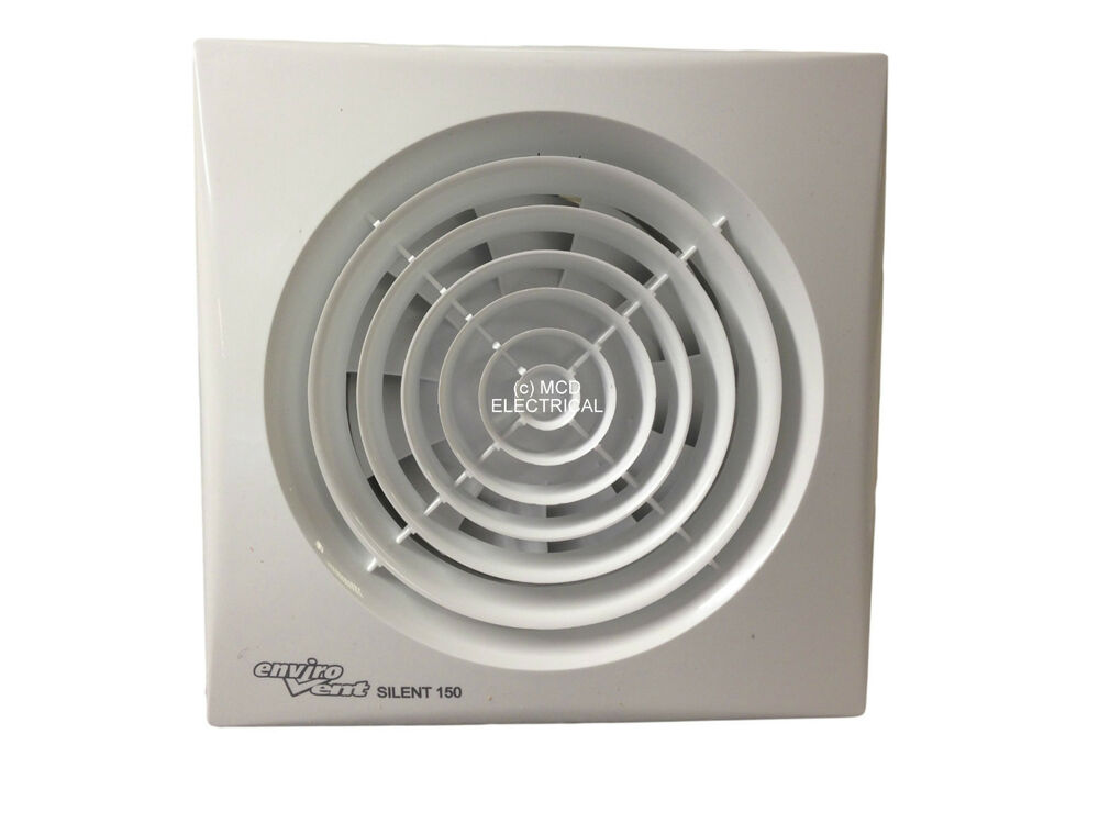 Envirovent silent 150t silent extractor fan with timer 6 for 6 bathroom extractor fan with timer