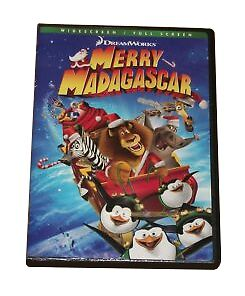 Merry Madagascar (DVD, 2009) From DreamWorks, Wide & Full ...