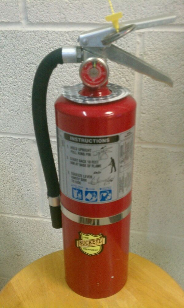 5 abc fire extinguisher fully charged ebay. Black Bedroom Furniture Sets. Home Design Ideas