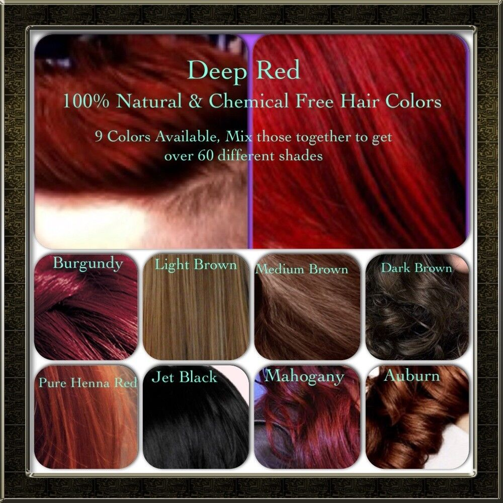 Natural Organic Chemical Free Henna Hair dye/color,Essential Oil ...