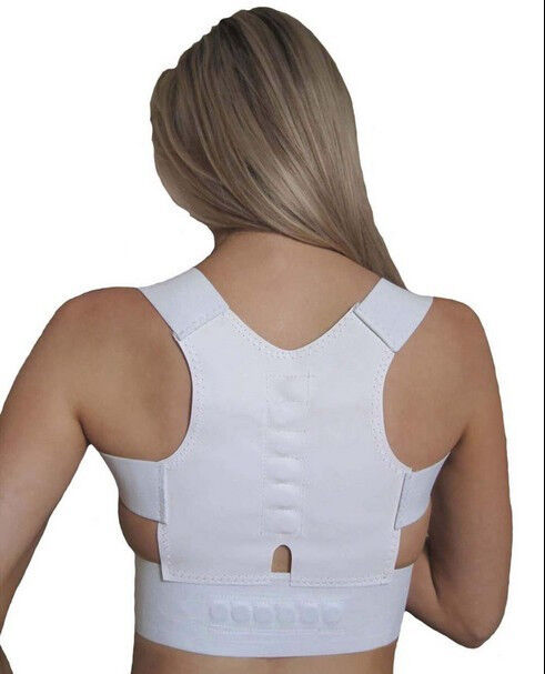 Women Magnetic Posture Support Corrector Back Pain Young ...