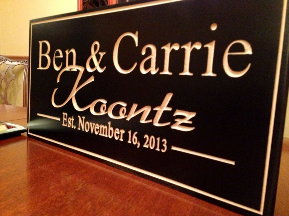 Personalized Sign Custom Wood Sign Custom Wood Engraving