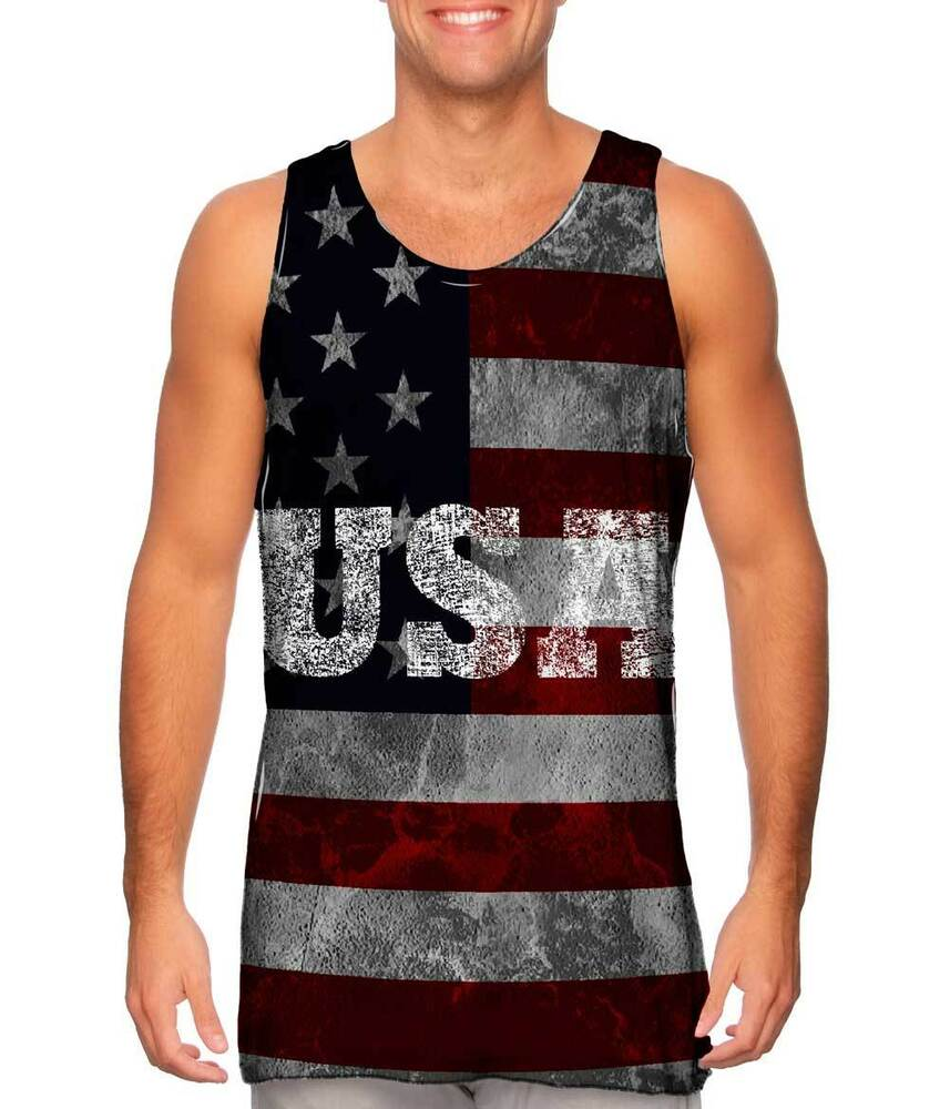 Yizzam dirty usa new men tank top tee shirt xs s m l xl for Best mens dress shirts under 50