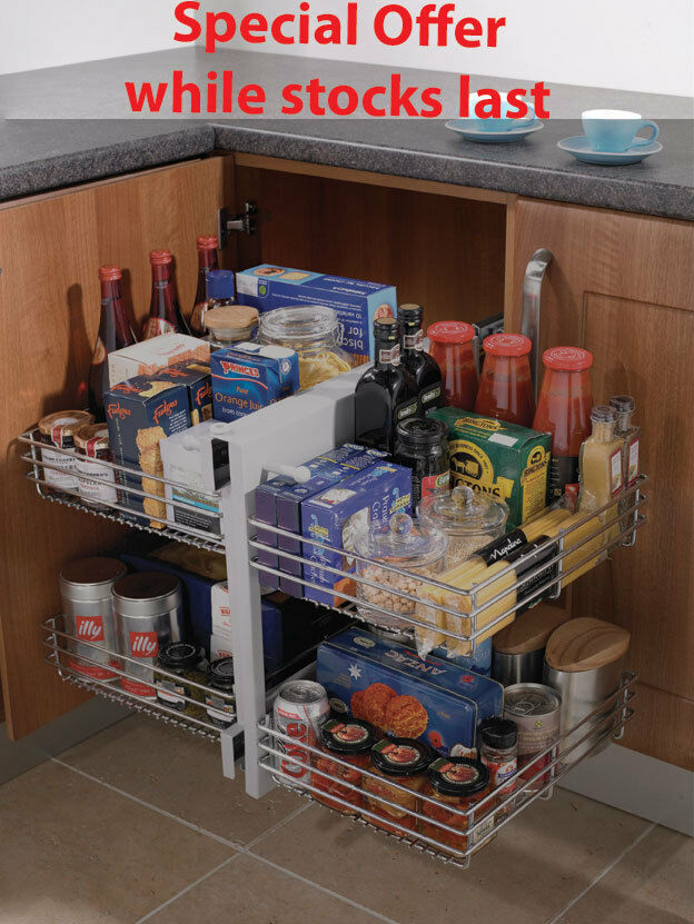 Blind corner optimiser magic corner storage for 800mm - Magic corner cabinet ...