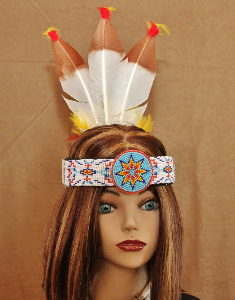 Imitation native american headband inh109 ebay for Native crafts for sale