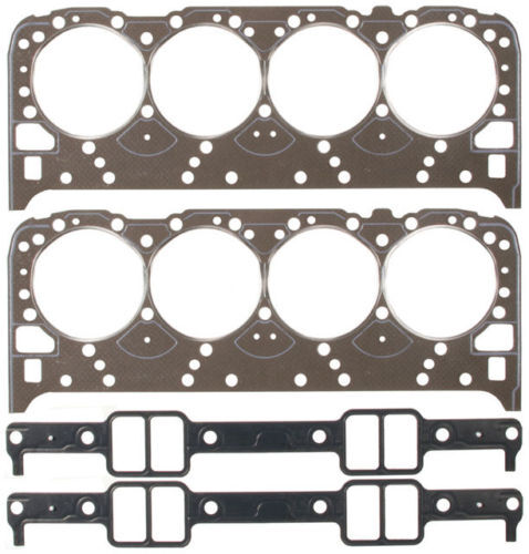 Chevy 350 Lt1 Engine 96 97: Fel Pro Full Gasket Set Head+Intake+Seals Chevy Pontiac