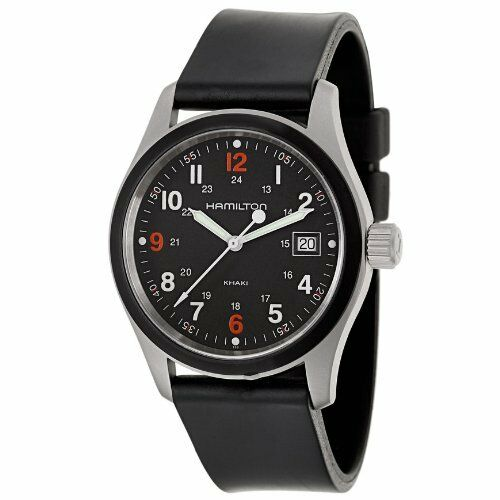 brand new hamilton s h68421333 khaki field black