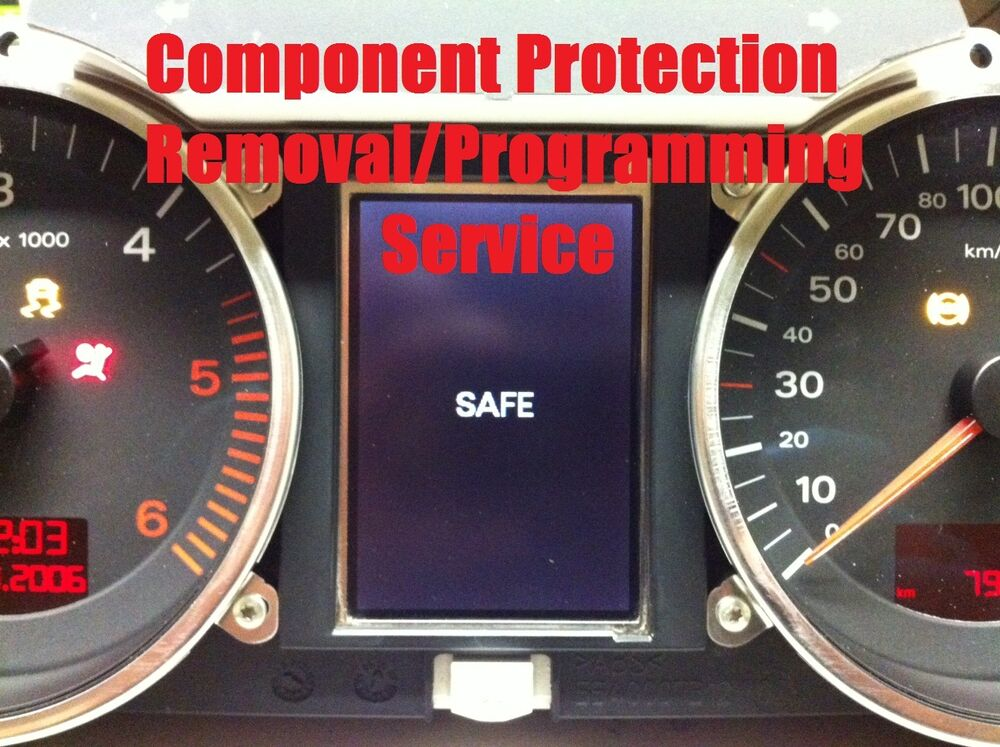Audi A6 S6 Rs6 Q7 Instrument Cluster Component Protection