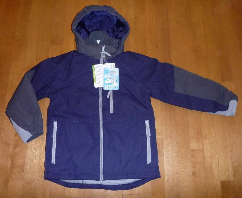 NWT Boys 3 in 1 CHILDREN'S PLACE Winter Coat Ski Jacket