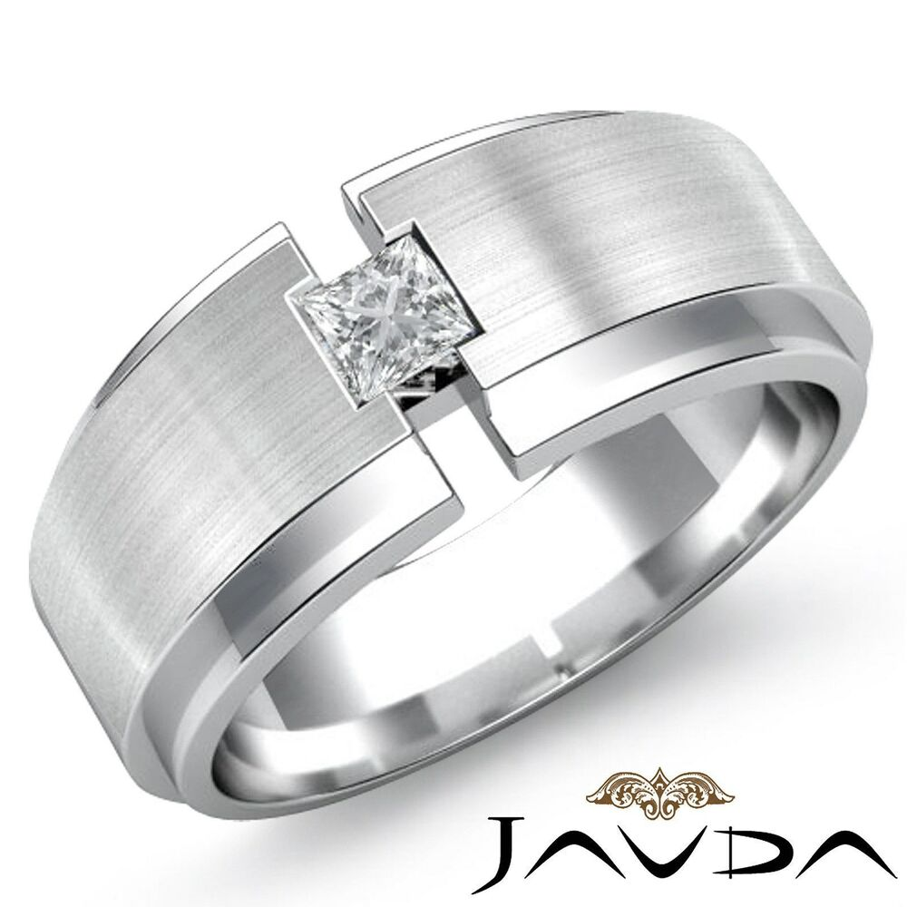 Mens Platinum And Diamond Wedding Rings