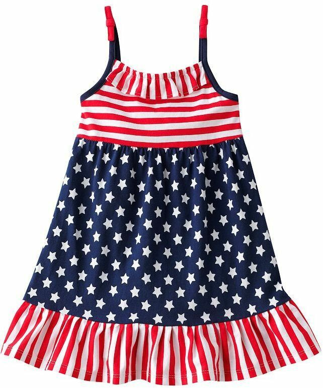Today I am unfolding before you a collection of 30 + Fourth of July outfits of for kids & little-girls. These July 4th dresses are too cute to make your dolls look like celebrity kids. Make them wear sweet frocks, tote frocks, printed diapers with matching caps, floral tees .