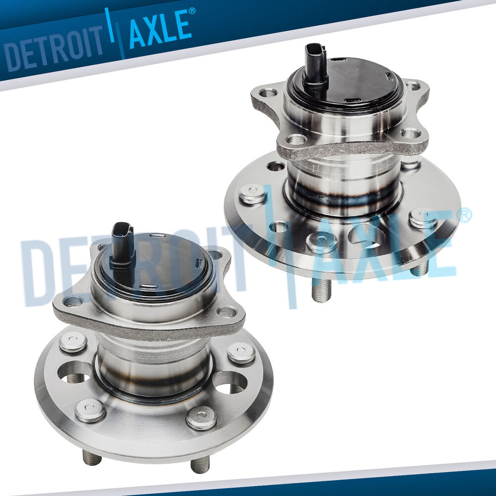 2019 Toyota Camry Hub Bearing Assembly Rear Axle Left: Set Of (2) New REAR Wheel Hub And Bearing Assembly Set For