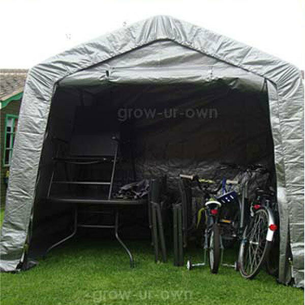 Xlarge waterproof motor bike folding cover storage shed - Motorcycle foldable garage tent cover ...