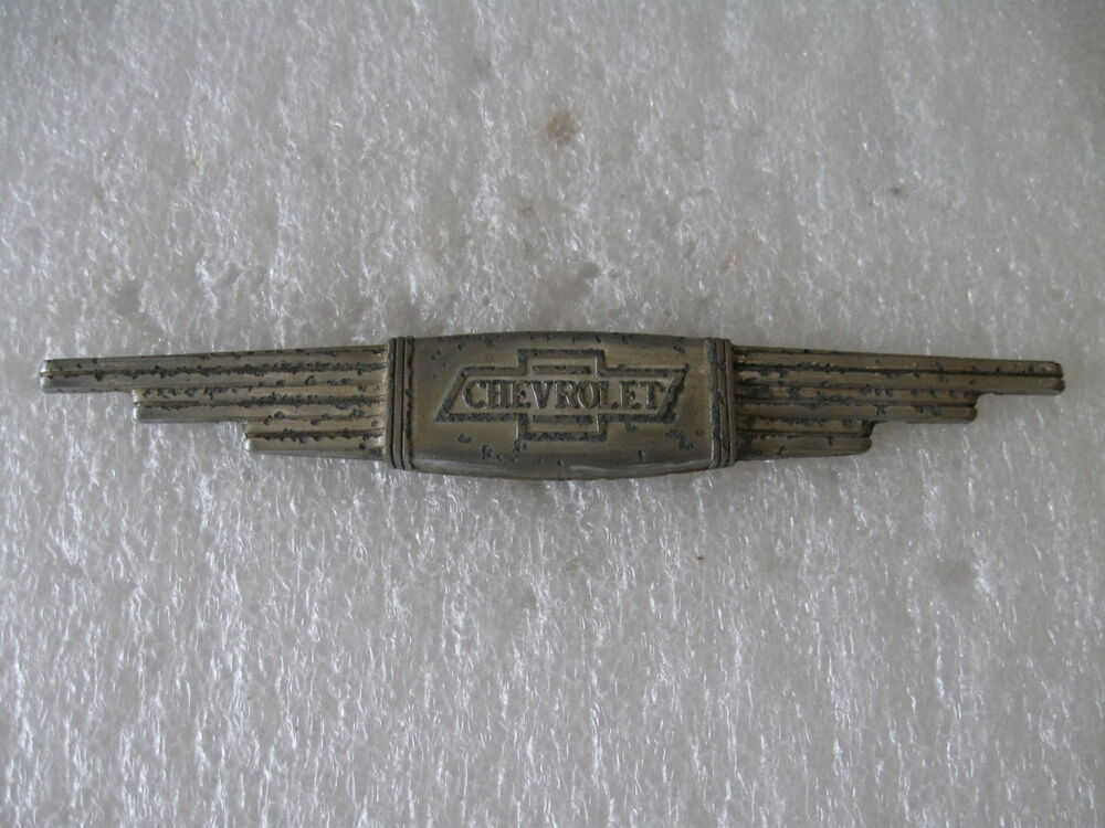 Vintage Chevrolet truck ornament chevy pickup emblem