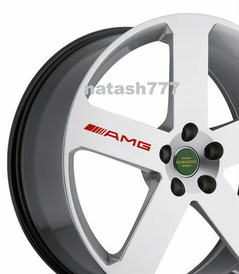 4 Amg Decal Sticker Wheels Rims Mercedes Benz Sport