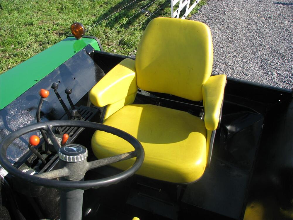 John Deere 4430 Tractor Seats Replacement : Piece yellow seat cushion assembly john deere jd