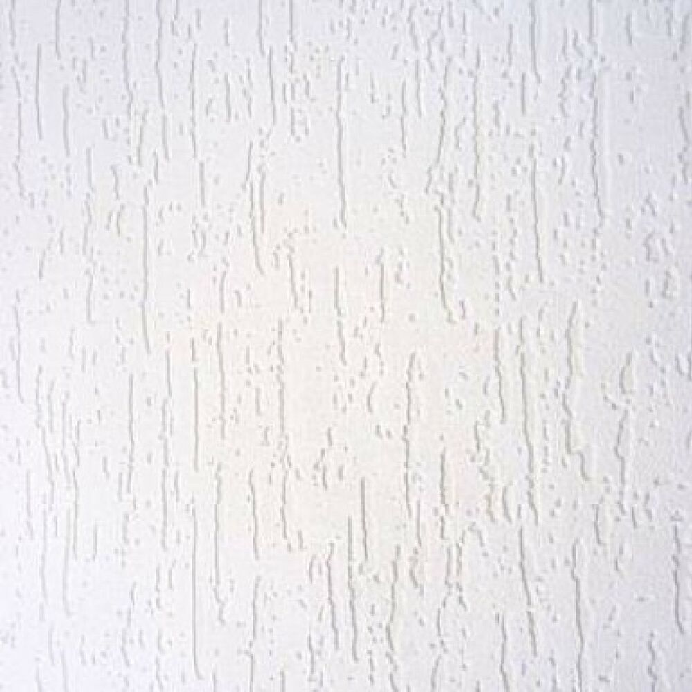 Anaglypta white blown vinyl embossed textured paintable for White washable wallpaper