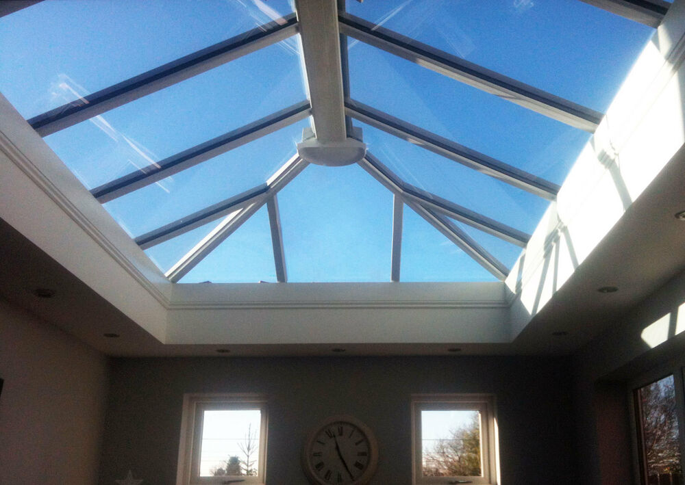 3m x orangery skylight roof lantern upvc clad for 1 x 3 window