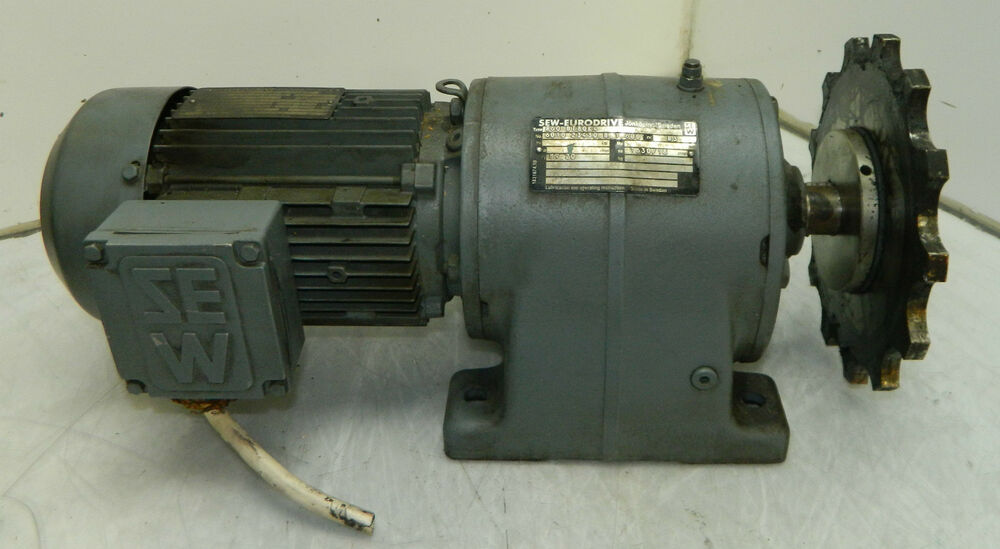 Sew eurodrive motor and gearbox r60 dt80k4 w sew gear for Sew motors and drives