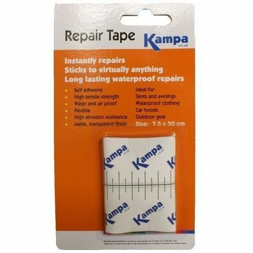 Kampa Repair Tape Patch Kit For Gazebo Tent Canopy Awning