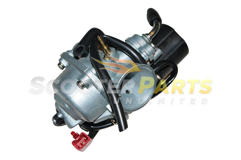 Moped Carburetor Parts : Gas scooter moped peugeot squab cc engine motor