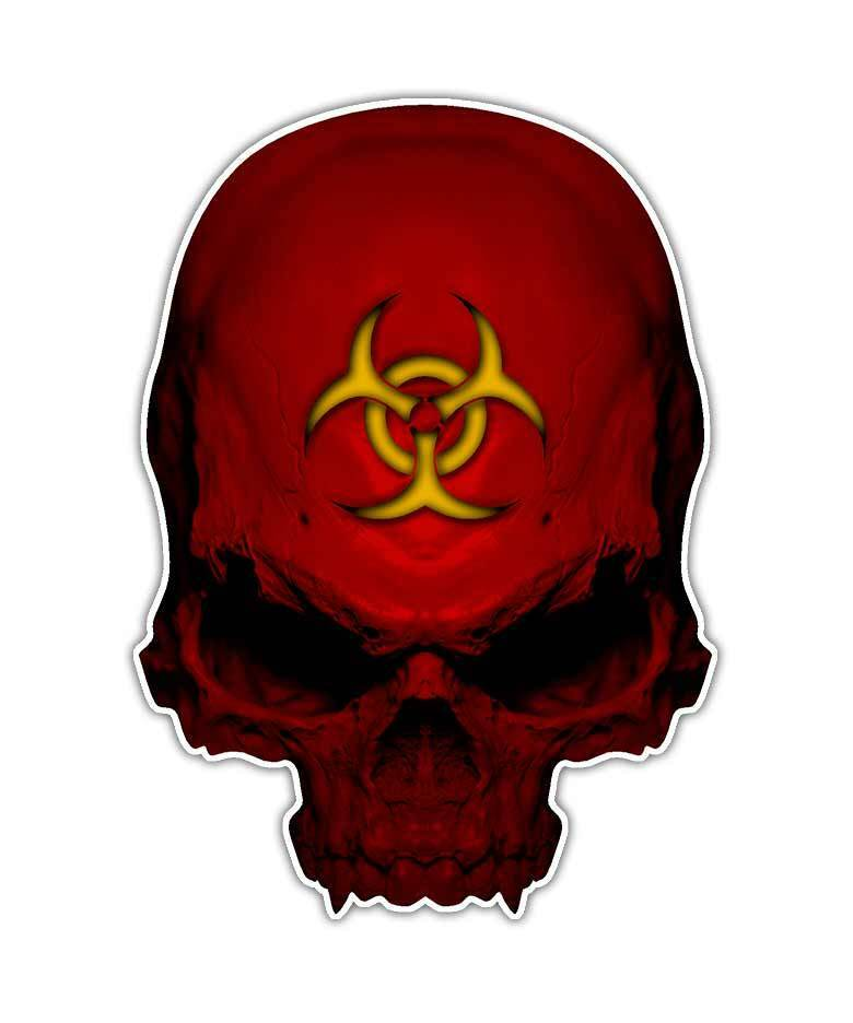 biohazard skull - photo #13