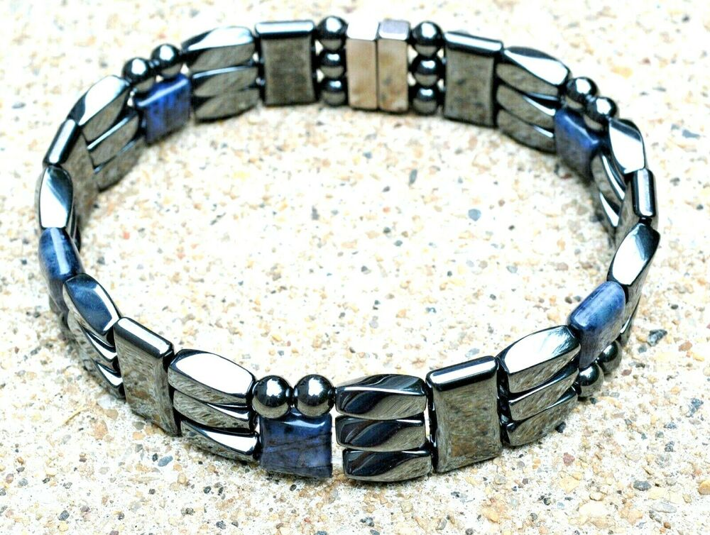 mens powerful magnetic hematite jewelry bracelet anklet