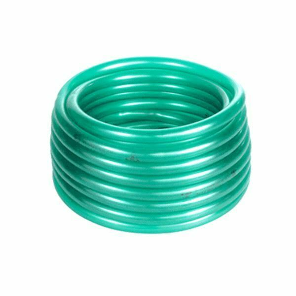 Flexible green clear plastic pond water hose pipe tube for Garden pond hose