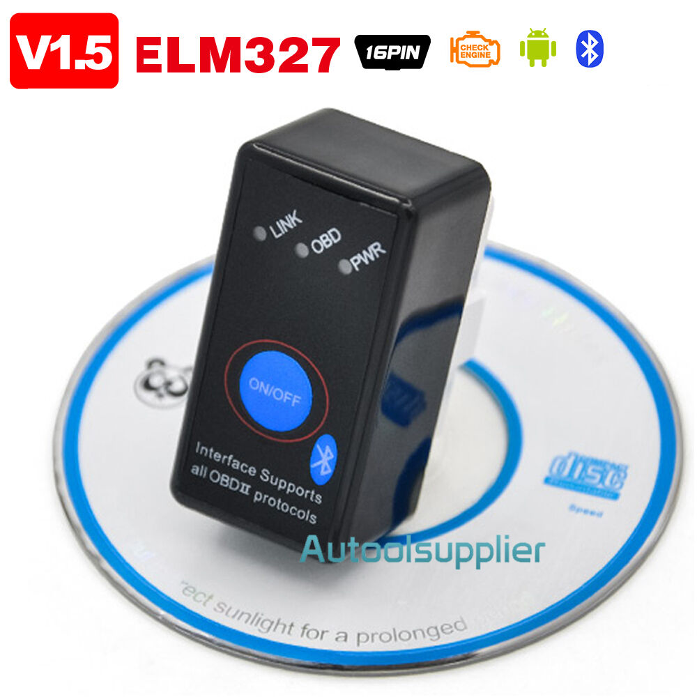 v1 5 bluetooth elm327 obd2 car code reader with power. Black Bedroom Furniture Sets. Home Design Ideas