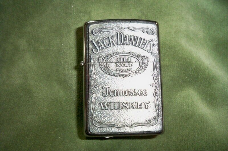 vintage zippo old no 7 jack daniel 39 s lighter ebay. Black Bedroom Furniture Sets. Home Design Ideas