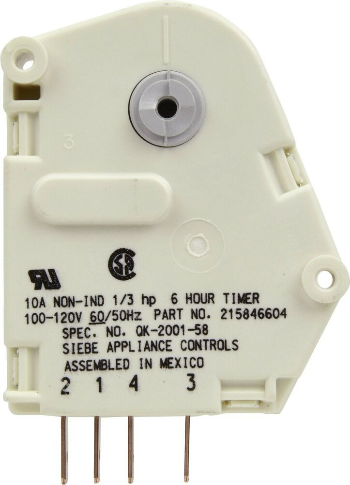 Kenmore Frigidaire Parts >> 215846604 Frigidaire Electrolux Kenmore Refrigerator Defrost Timer Module New | eBay