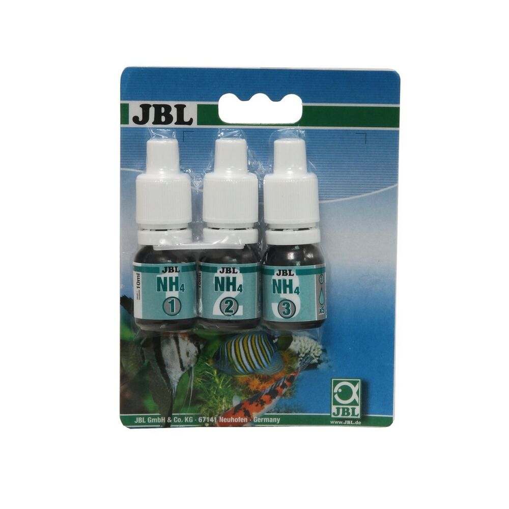 Jbl ammonium test nh4 reagent refill water testing for Jbl aquarium