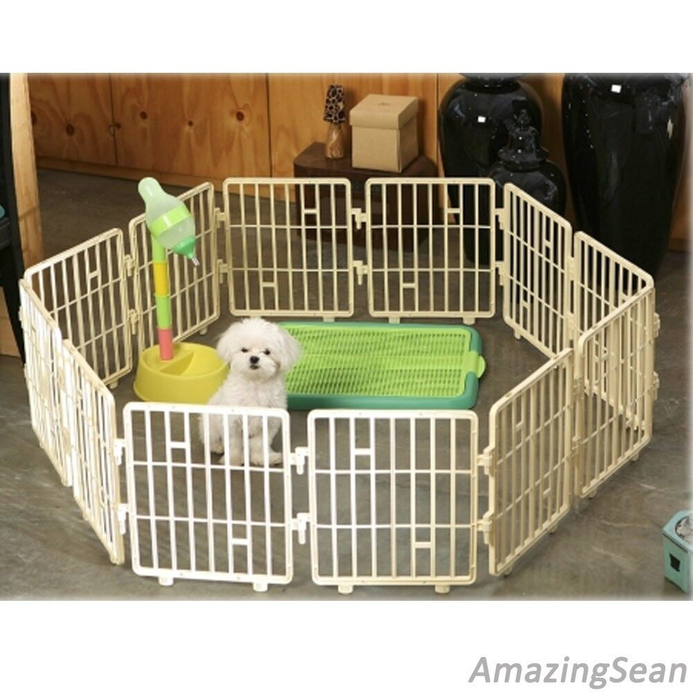 Pet Playpen 8 12 24 Panel Dog Fence Cat Exercise Pens
